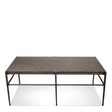 Lorraine Coffee Table Bluestone Travertine finish