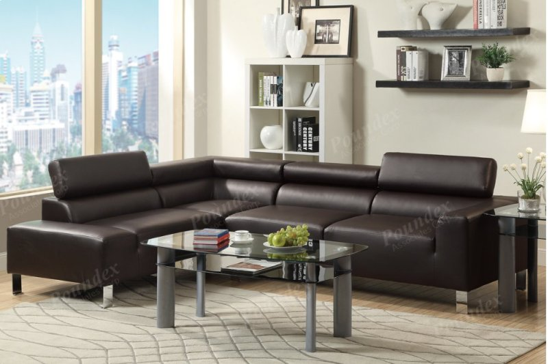 F7299 In By Poundex In Dallas Tx 2 Pcs Sectional Sofa
