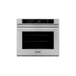 "DacorHeritage 27"" Single Wall Oven, Silver Stainless Steel with Flush Handle"
