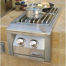 "14"" Built-In 2 Burner Unit"