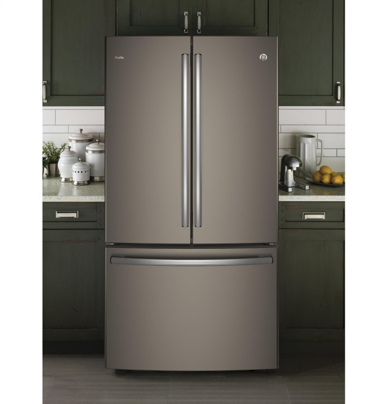 Ge Profile Series Energy Star 23 1 Cu Ft Counter Depth French