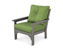 Slate Grey & Ginkgo Vineyard Deep Seating Chair