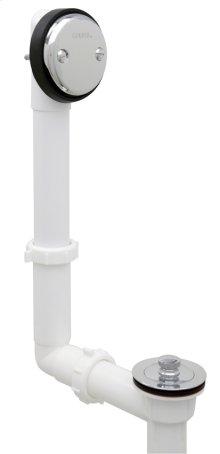 Chrome Gerber® Classics Pvc Lift & Turn Drain With Retaining Ring