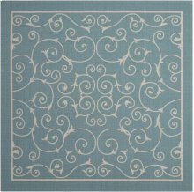 Home & Garden Rs019 Ltb Square Rug 6'6'' X 6'6''
