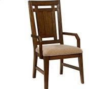 Estes Park Upholstered Seat Arm Chair