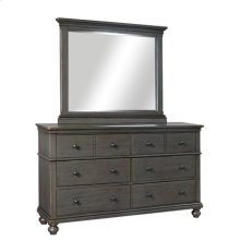 Landscape Mirror (Available in Whiskey Brown or Peppercorn Grey Finish)