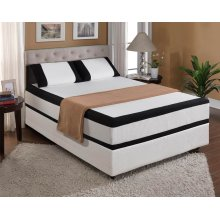 "Mattress Starlight 12""gel- Memory Foam Cal King 6/0"