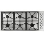 "Dacor46"" Professional Gas Cooktop, Natural Gas/High Altitude"