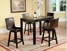 Delia 5-Piece Counter Height Dining Set