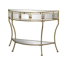 Midas Mirror and Gold Console