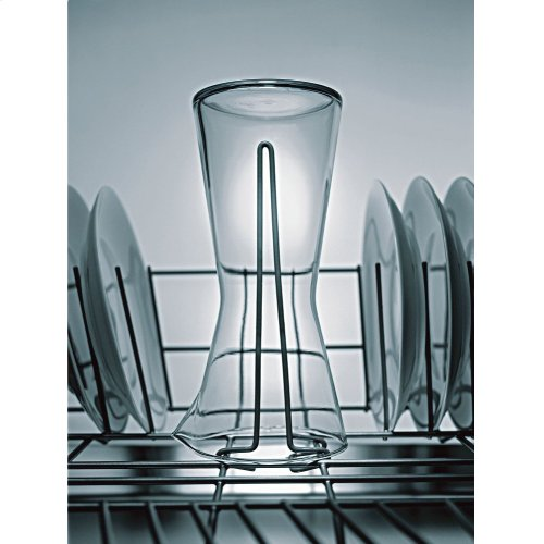 Dishwasher Accessory Kit with Extra Tall Item Sprinkler, Vase/Bottle Holder, 3 Plastic Item Clips and Small Item Basket - Main Lineup