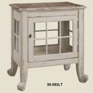 """Cottage"" Window Pane Commode"
