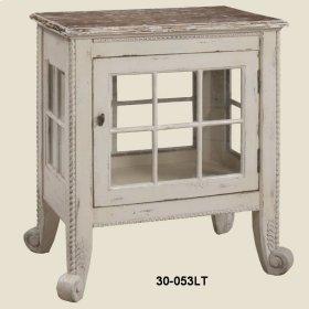 """Cottage"" Window Pane Commode"