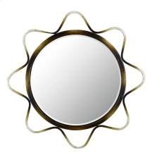 LORCA METAL BEVELED MIRROR