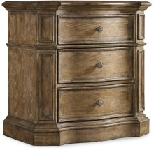 Solana Three-Drawer Nightstand