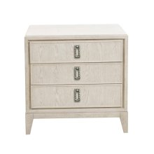 Meyers Park 3 Drawer USB Charging Nightstand