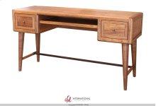 Wooden Writing Desk w/Sliding Shelf - KD System