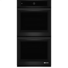 "27"" Double Wall Oven with MultiMode® Convection System, Black Floating Glass w/Handle"