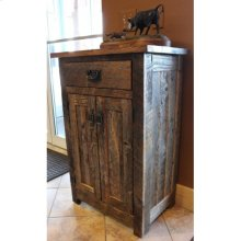 Reclaimed Entry Way Cabinet