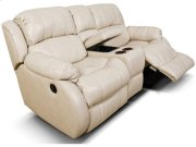 Litton Double Rocking Reclining Loveseat Console 201090L Product Image