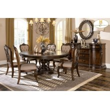Round / Oval Pedestal Dining Table