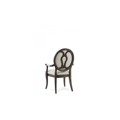 St. Germain Oval Back Arm Chair