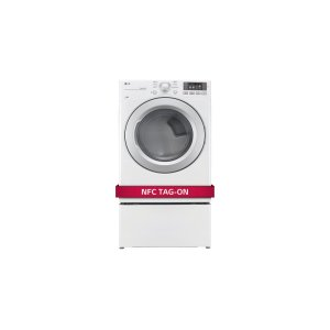 LG Appliances7.4 cu. ft. Ultra Large Capacity Dryer w/ NFC Tag On Technology