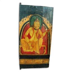 Antique Tibetan Door