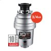 3/4 HP 10 Year Warranty, Continuous Feed waste disposer