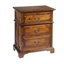 Nightstand with Three Drawers