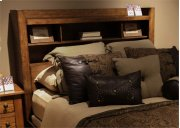 Queen Bookcase Headboard Product Image