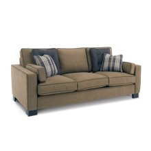 Loveseat - with wood leg only