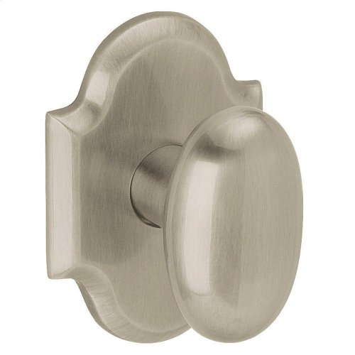 Satin Nickel 5024 Oval Knob