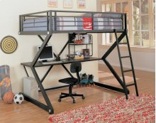 Full Workstation Loft Bed
