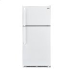 18.1-Cu.-Ft. Top Mount Refrigerator - white
