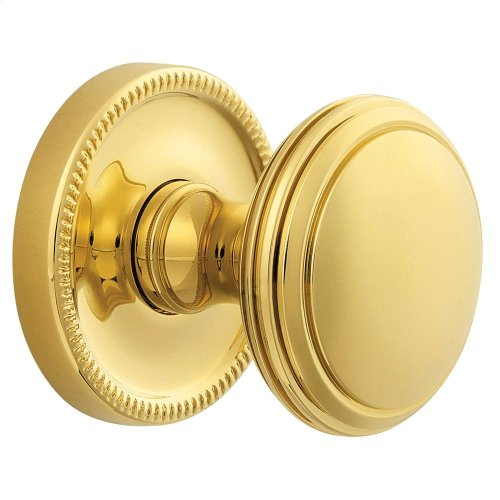 Non-Lacquered Brass 5069 Estate Knob