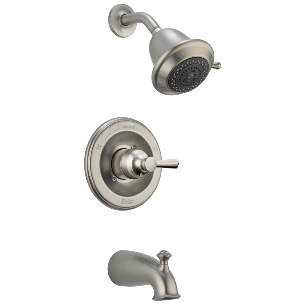 Stainless Monitor ® 14 Series Tradtional Tub & Shower Trim