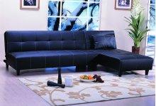 Click-clack Sofa Bed Black