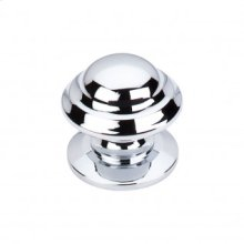 Empress Knob 1 3/8 Inch - Polished Chrome