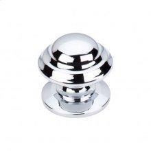 Empress Knob 1 3/8 Inch - Polished Chrome