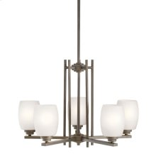 Eileen 5 Light Chandelier Olde Bronze®