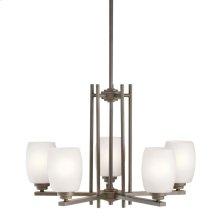 Eileen 5 Light Chandelier Olde Bronze®