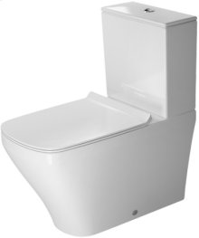 White Durastyle Toilet Close-coupled