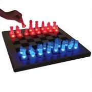 LED Glow Chess Set - Blue / Red Product Image