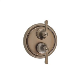 Dual Control Thermostatic with Diverter and Volume Control Valve Trim Summit (series 11) Bronze