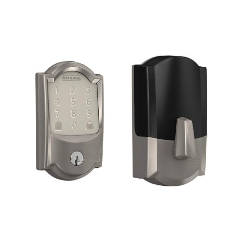 Schlage Encode Smart WiFi Deadbolt (for Works with Ring Video Doorbells and Cameras) - Aged Bronze