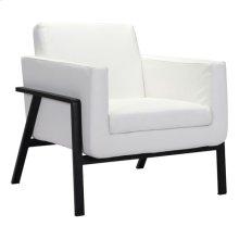 Homestead Lounge Chair White Pu