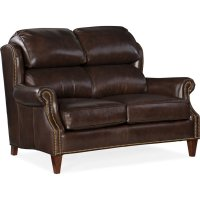 Bradington Young Taylor Stationary Loveseat 8-Way Hand Tie 514-75 Product Image