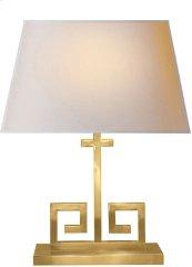 Visual Comfort AH3024NB-NP Alexa Hampton Kate 24 inch 40 watt Natural Brass Decorative Table Lamp Portable Light