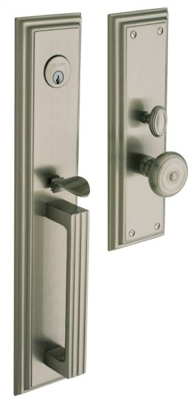 Satin Nickel Tremont Entrance Trim